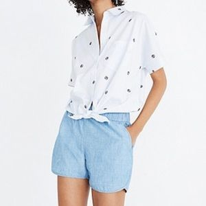 Madewell Chambray Shorts